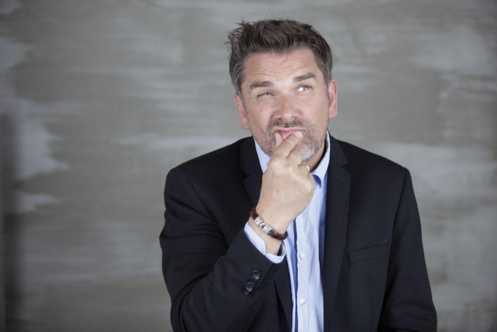 Lars Nicolaisen - nachdenklich